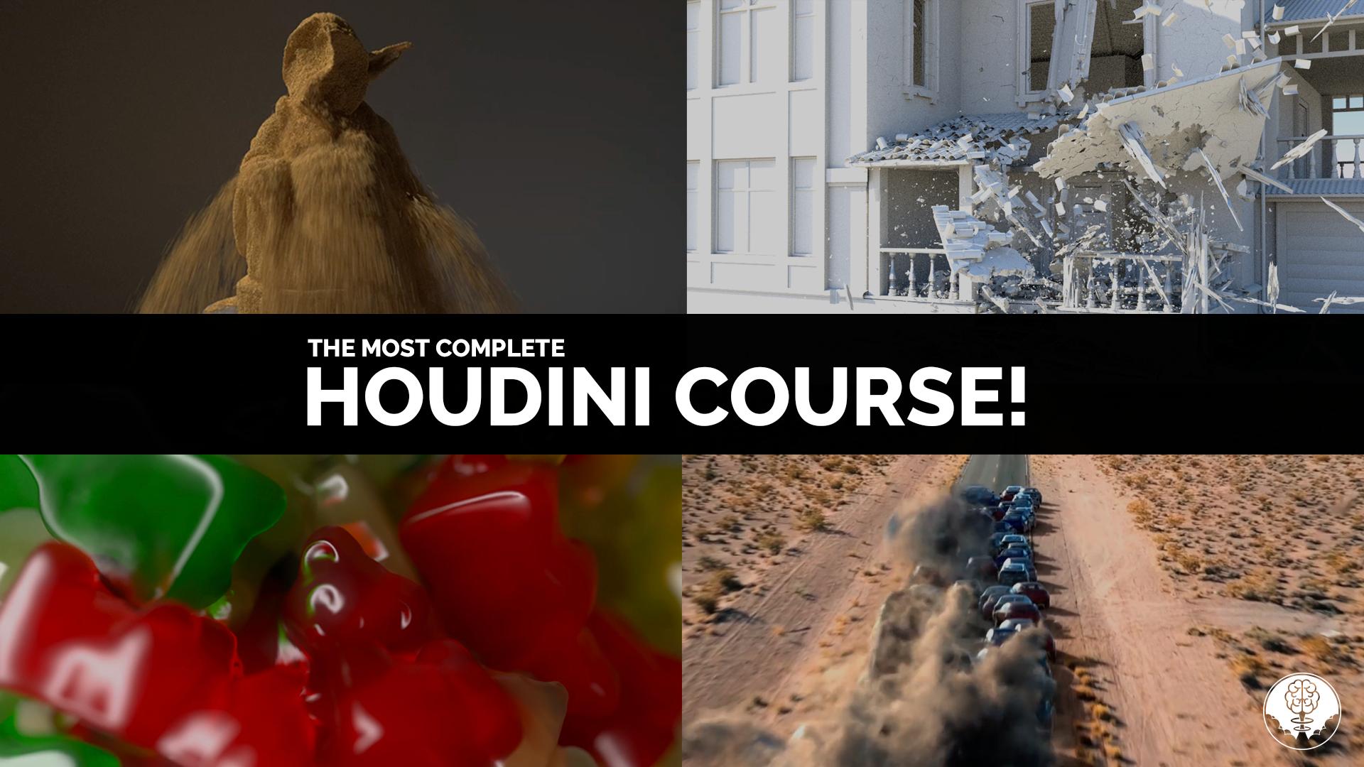 Houdini Renascence Program | Video Tutorials | Houdini Course